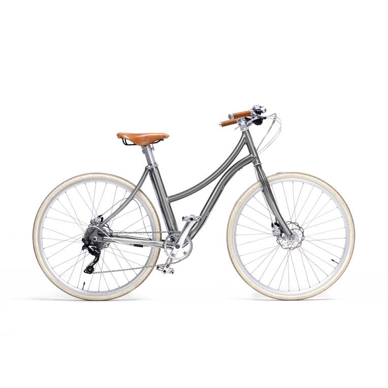 e-bike stella donna grigio - metallic gray women's e-bike