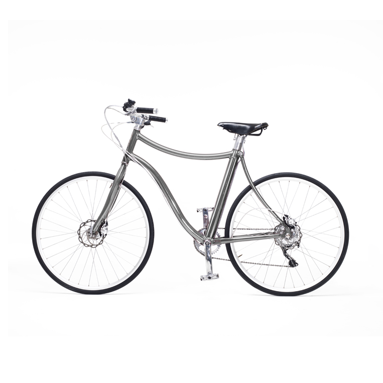 e-bike stella uomo grigio - metallic grey men's e-bike